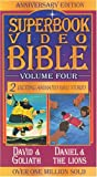 David and Goliath / Daniel and the Lions (Superbook Video Bible #04) [VHS]
