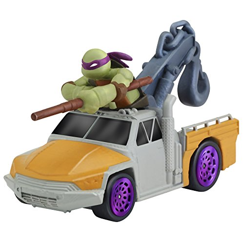 Teenage Mutant Ninja Turtles T-Machines Donatello in Service Truck Diecast Vehicle - 1