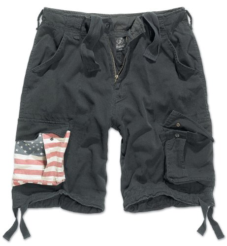 US Flag Brandit Legend Vintage Cargo Short (S a 7XL)