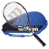 Wilson BLX Surge Strung Tennis Racquet with 3 Racquet Bag by Wilson