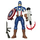 51UO1ga1rYL. SL160  Marvel Captain America Electronic Feature Play Action Figure