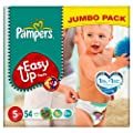Pampers Easy-Up Size 5 (12-18kg) Jumbo Pack�54 per pack