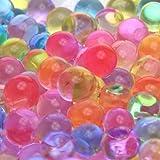 2oz pack- (Almost 4,000 !!!!!) Jelly BeadZ (Tm) Water Bead Gel- Rainbow Mix