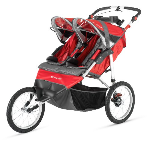 Pacific Cycle Instep Arrow Fixed Wheel Double Jogger