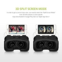 Habor 3D VR Virtual Video Headset Virtual Reality Glasses for Smartphones from Habor