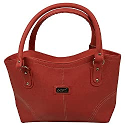 Desence Women's Handbag (Red,184)