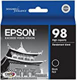 Epson Claria T098120 Hi-Definition 98 High-capacity Inkjet Cartridge-Black