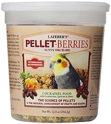 Lafeber\'s Cockatiel Pellet-Berries for Cockatiels 12.5-Ounce