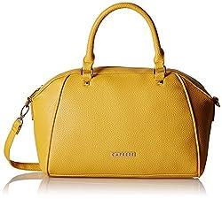 Caprese Solang Women's Clutch (Yellow)