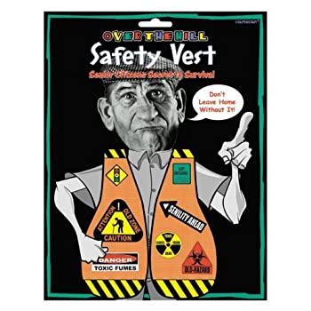Set A Shopping Price Drop Alert For Amscan Over the Hill Safety Vest