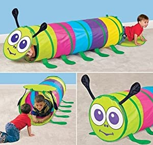 Caterpillar Tunnel- Indoor/Outdoor Pop Up Tunnel