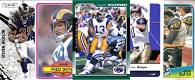 ST. LOUIS/LOS ANGELES RAMS Football Card Team Lot - 200 Assorted Cards