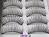 CyberStyle(TM) 20 Pairs of Natural & Regular Long False Eyelashes