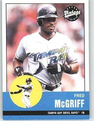 2001 Upper Deck Vintage #42 Fred McGriff - Tampa Bay Devil Rays (Baseball Cards)