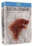 Juego De Tronos temporadas 1 y 2 bluray España pack