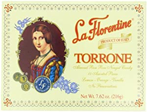 La Florentine Torrone, Lemon, Orange, Vanilla, 7.62-Ounce, 18-Count Boxes (Pack of 4)