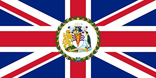 Commissioner of the British Antarctic Territory | British Antarctic Territory Flag 20x30cm | 8x12in for Diplomat-Flags Car Flag Poles (British Antarctic Territory Flag compare prices)