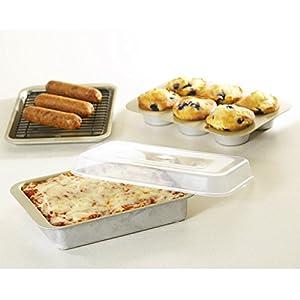Nordic Ware Compact Ovenware Aluminized Steel 5 Piece Bakeware Set