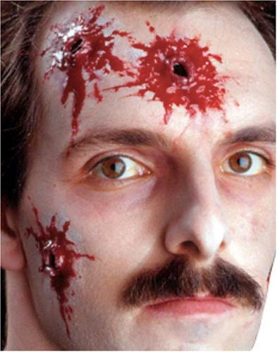 EZFX Bloody Body Hits Makeup and Prosthetic Costume Kit