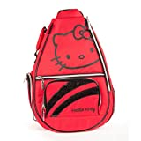 Hello Kitty Sports Premier Collection Tennis Backpack, Red