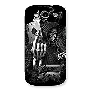 Premium Game Over Back Case Cover for Galaxy S3 Neo
