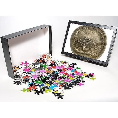 Photo Jigsaw Puzzle of Medal commemorating Vasco da Gama