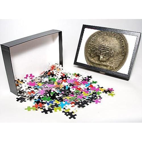 Photo Jigsaw Puzzle of Medal commemorating Vasco da Gama