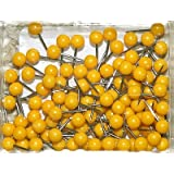 1/8 Inch Map Tacks - Yellow