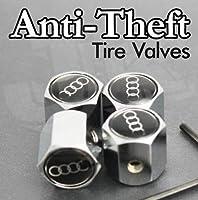 AUDI Anti-Theft Tire Valve Caps from AA