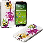 myLife (TM) Colorful Tropical Flower Chain Series (2 Piece Snap On) Hardshell Plates Case for the Samsung Galaxy S4 Fits Models: I9500, I9505, SPH-L720, Galaxy S IV, SGH-I337, SCH-I545, SGH-M919, SCH-R970 and Galaxy S4 LTE-A Touch Phone (Clip Fitted Front and Back Solid Cover Case + Rubberized Tough Armor Skin + Lifetime Warranty + Sealed Inside myLife Authorized Packaging) ADDITIONAL DETAILS: This two piece clip together case has a gloss surface and smooth texture that maximizes the stylish appeal of your Galaxy S4 and brings out the unique colors and designs in the case itself.