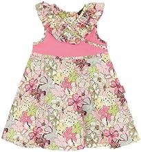 Rabbitmoon Girl39s Sparkle Sundress with Cross Front