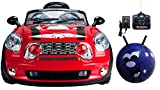 MINI KIDS RIDE ON CARS ELECTRIC 12V BATTERY REMOTE CONTROL TOY CAR CARS JE118 12V (RED)