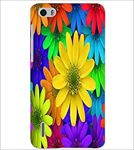 HUAWEI HONOR 6 COLORFL FLOWERS Designer Back Cover Case By PRINTSWAG
