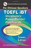 TOEFL iBT Vocabulary Flashcard Book (Taiwan Edition) (Flash Card Books) (English as a Second Language Series)
