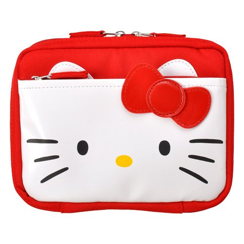 Hakuba photo industry Hello Kitty electronic dictionary case red S-KTDCS-RD