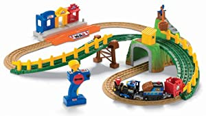 Fisher-Price GeoTrax Remote Control Timbertown Railway