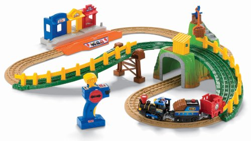 Fisher-Price GeoTrax Remote Control Timbertown
