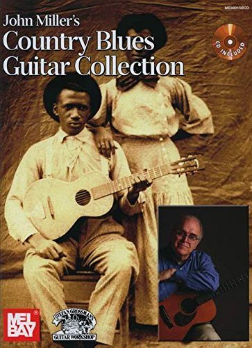 John Miller's Country Blues Guitar Collection Book/CD Set