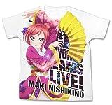 ラブライブ! The School Idol Movie 劇場版 西木野真姫 フルグラフィックTシャツ ホワイト Lサイズ