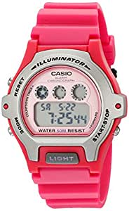 Casio Unisex LW202H-4AVCF Classic Pink Dial Watch