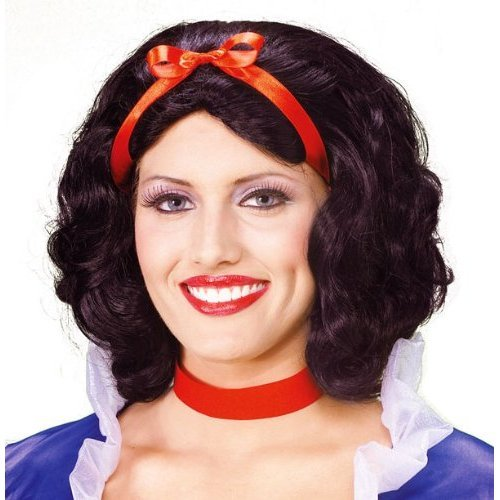 Womens Snow White Costume Wig