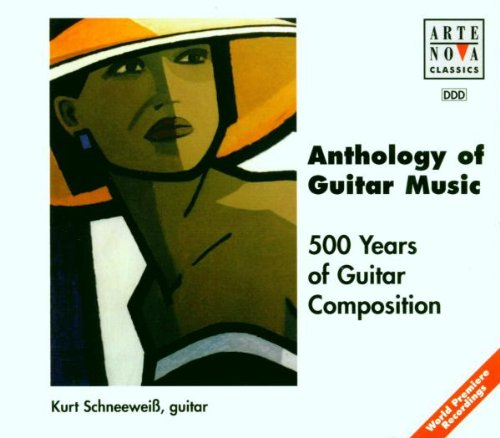 Anthology of Guitar Music: 500 Years of Guitar Composition [Box Set]