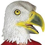 Loftus International Adult Eagle Animal Mask, White/Yellow, One Size