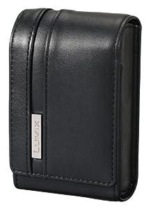 Panasonic - DMW-PSH20XEK - Sacoche de cuir verticale pour DMC-FT20, SZ7, SZ1, FX90, FS35 - Noir