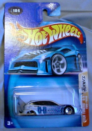 Hot Wheels 2003 Tech Tuners Ford Foucs 5/5 SILVER #104