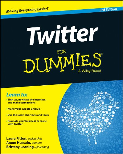 Twitter For Dummies (For Dummies (Computer/Tech))