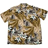 Paradise Found Mens Orchid Jungle Shirt