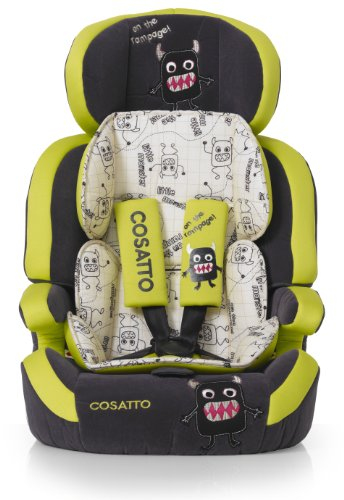 Cosatto Zoomi Group 1/2/3 High Back Booster Car Seat (Little Monster)