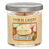 Yankee Candle Small Cylinder Jar Candle, Vanilla Cupcake