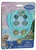 Disney Frozen Princess Elsa 5 Piece Jewelry Set